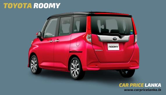 Toyota Roomy rear view - Car Price Lanka