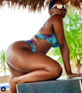 Davido's Baby Mama, Sophia Momodu Flaunts Her Banging Bikini Body In New Photos