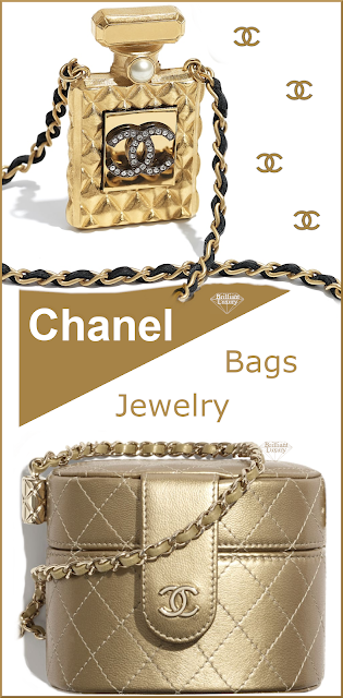 A little bit of CHANEL #bags #jewelry #brilliantluxury