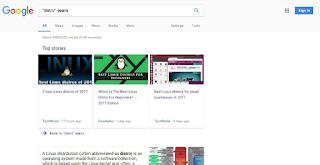 pencarian simbol di Google