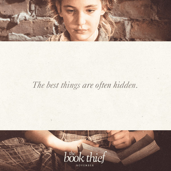 the best things are often hidden