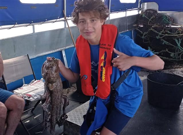 Recetas de pulpo en las excursiones de Pescaturismo