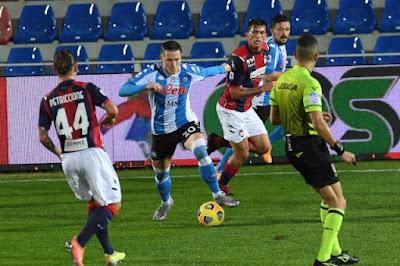 ملخص واهداف مباراة نابولي وكروتوني (4-0) الدوري الايطالي