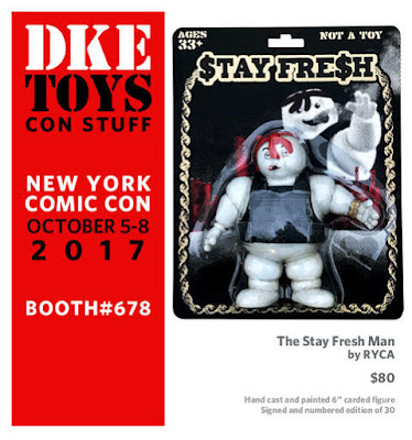 New York Comic Con 2017 Exclusive The Stay Fresh Man Ghostbusters Bootleg Resin Figures by RYCA x DKE Toys