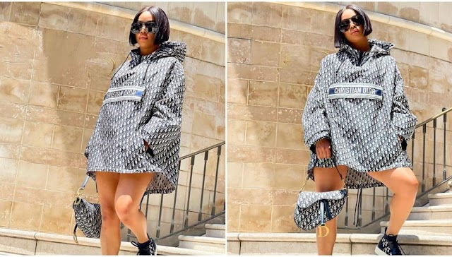 """""""I am shameless, but it's a disgusting behavior to keep asking when I'll get married"""" — Media personalty, Toke Makinwa"""