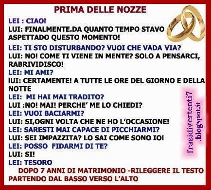 Frasi Per Matrimonio Divertenti.Frasi Matrimonio Spiritose Simpatiche