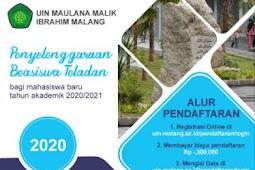 Pendaftaran KIP Kuliah UIN MALANG dan Beasiswa Teladan UIN Malang 2020