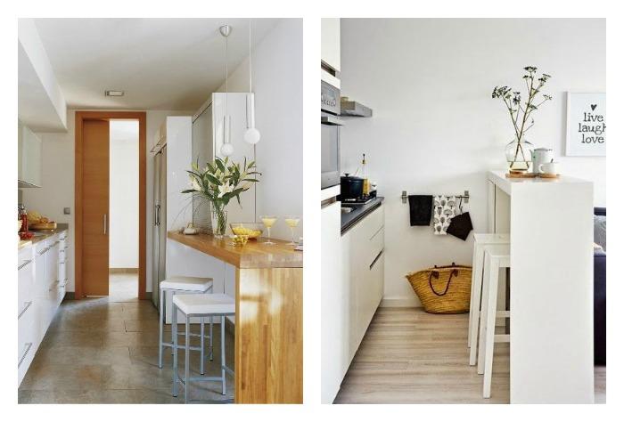 barras altas de cocina para crear office