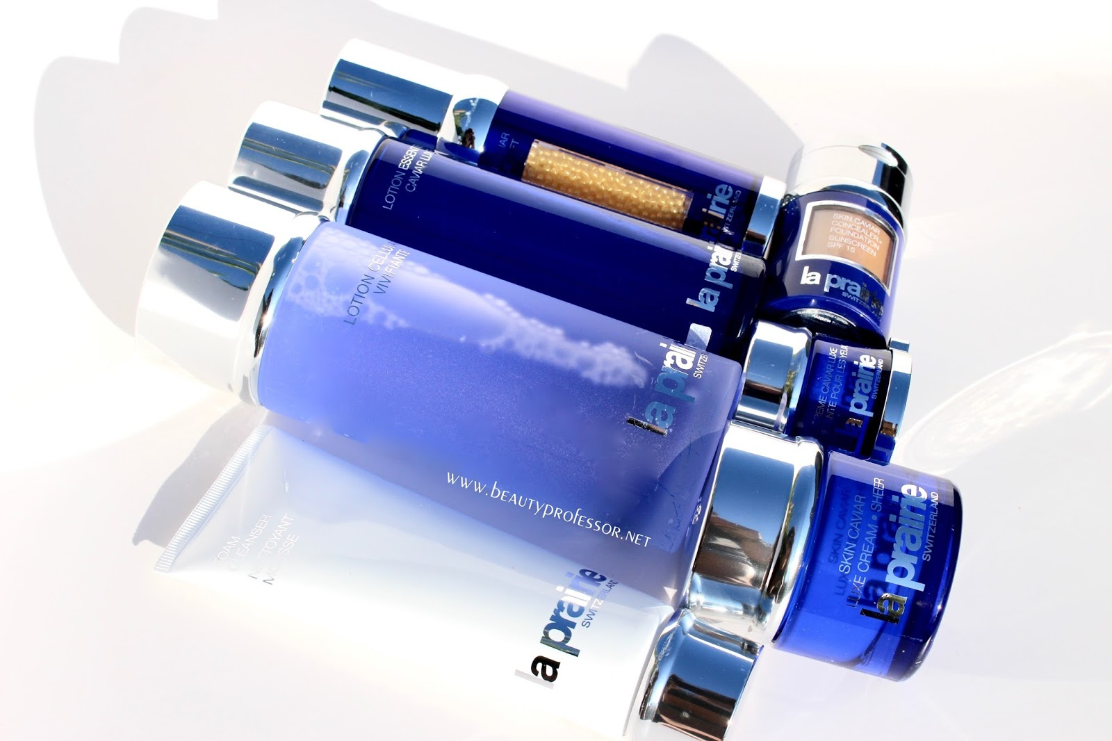 944a1a53d My La Prairie Caviar Ritual + Swatches of Every Shade of the Next  Foundation Powder You Need in Your Life