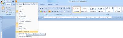 kali ini aku akan menshare yang berafiliasi dengan Microsoft Office khusus kali ini adal Cara Membuat Boundaries
