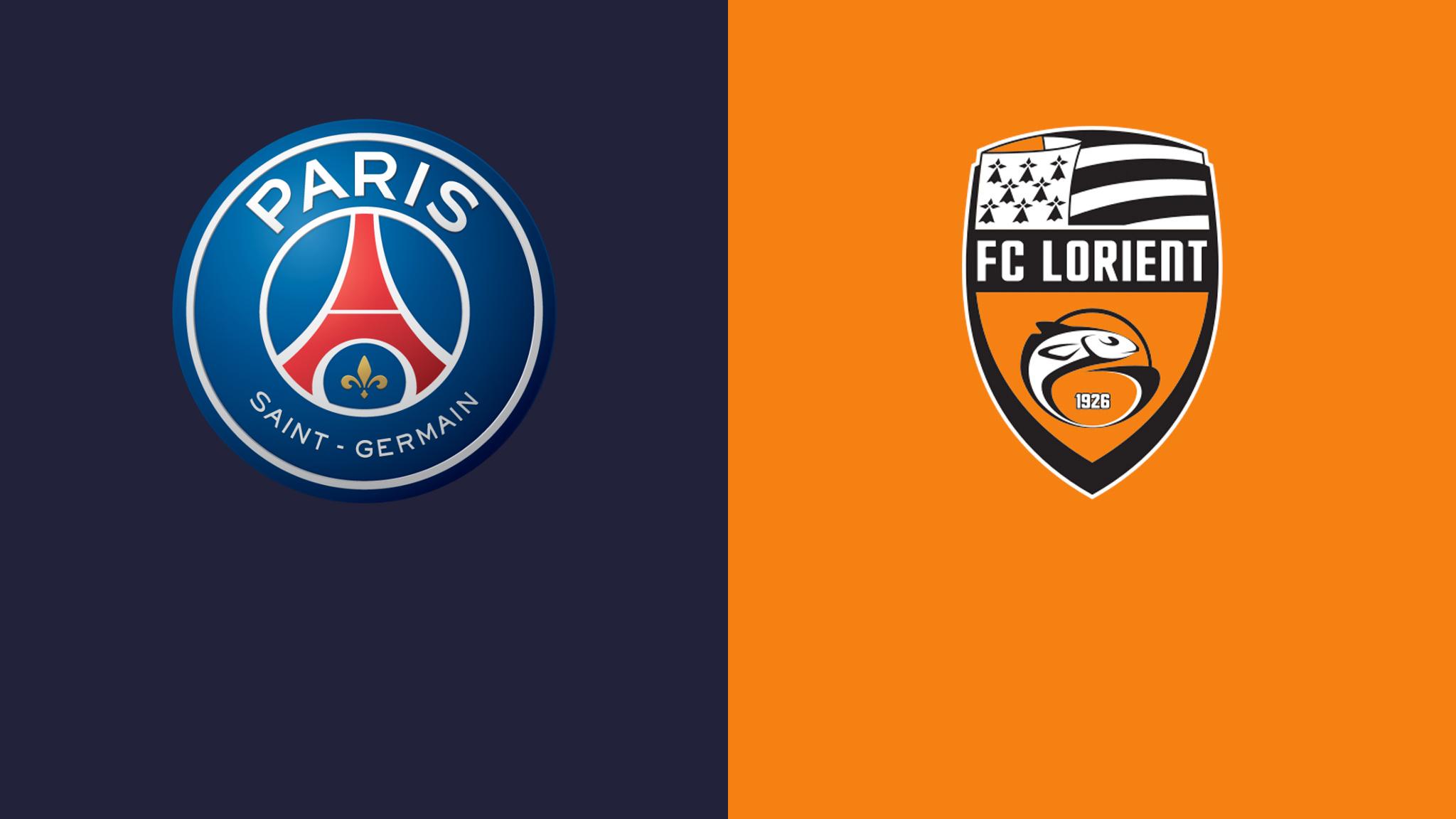 Lorient vs PSG foot em 7