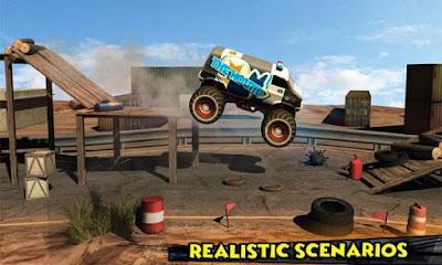 Monster Truck Rider 3D v1.2 Apk (Mod Money)