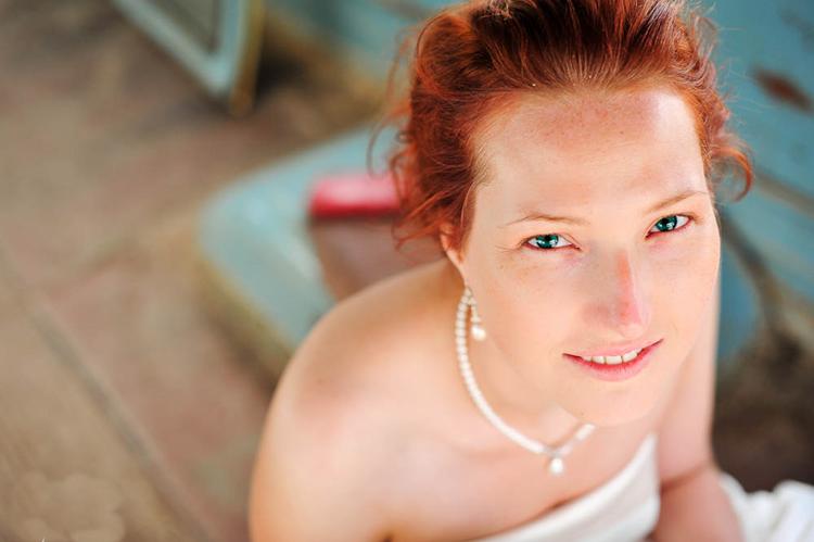 noiva sem maquiagem