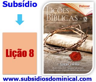 Subsídios EBD,  Apóstolos, Profetas, Escola Dominical...