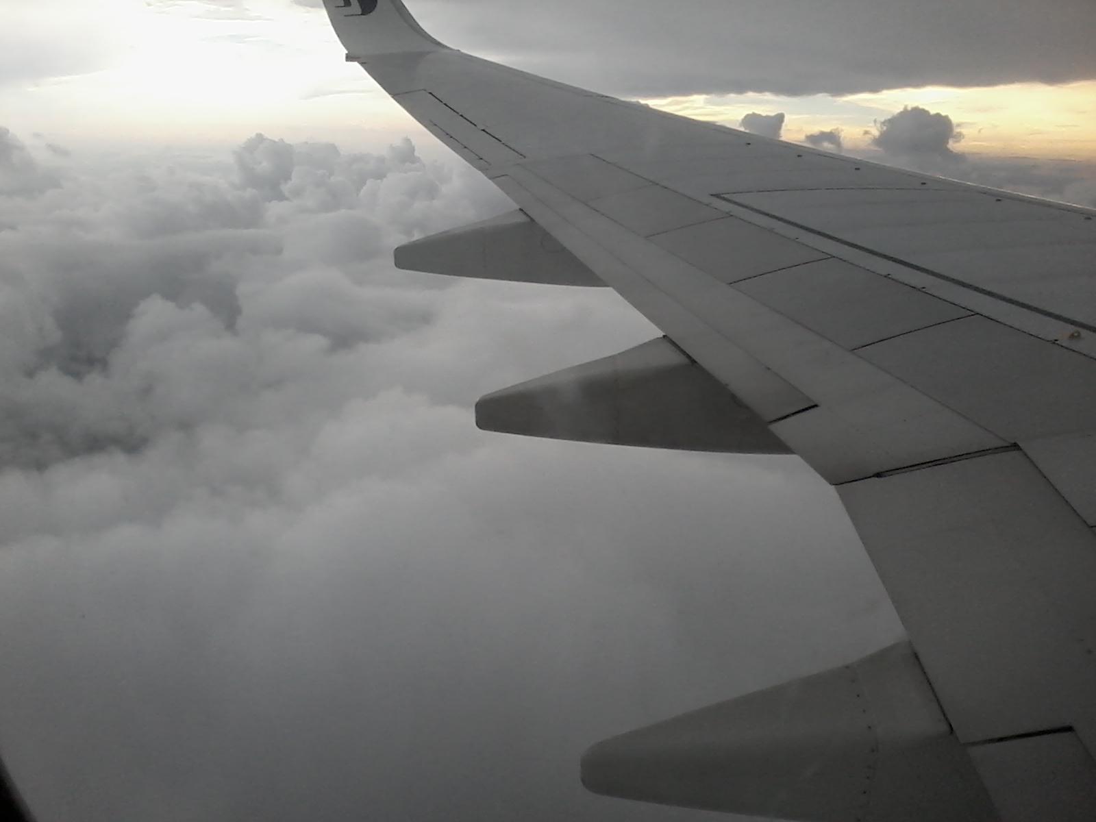 Terbang ke Kota Kinabalu menaiki Malaysia Airlines (MAS)