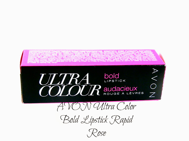AVON Ultra Color Bold Lipstick Rapid Rose