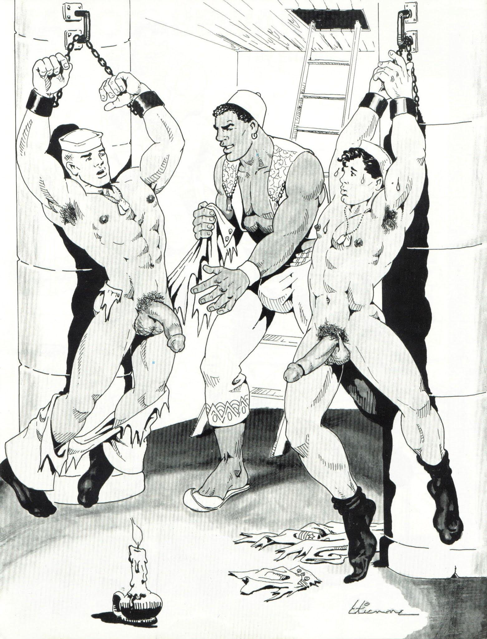 Gay Artist Etienne Bdsm