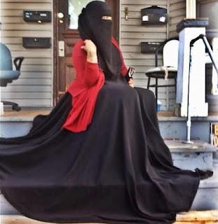 رمزيات بنات منقبات