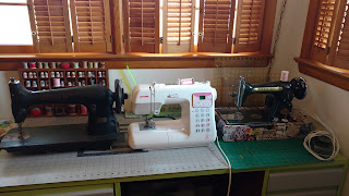How To Set Up Sewing Room With Two Machines