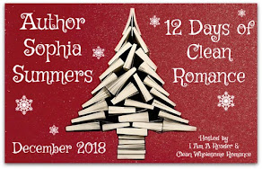12 Days of Clean Romance featuring Sophia Summers – 3 December