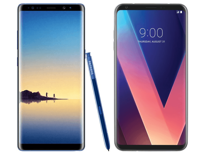 Samsung Galaxy Note 8 Vs LG V30 Specs Comparison
