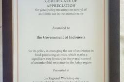 indonesia Raih Penghargaan dalam dalam Upaya Pengendalian Resistensi Antimikroba