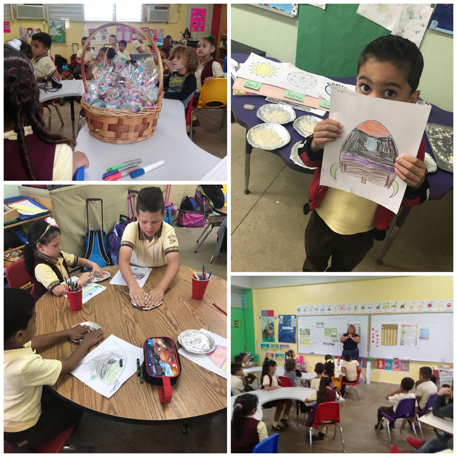 Escuela Luz A.Cruz de Santana: abril 2018