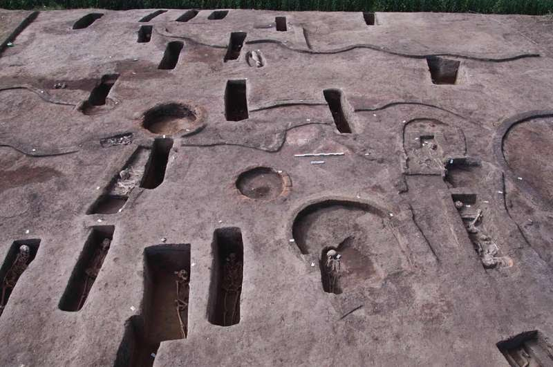 Egypt archeologists unearth 110 ancient tombs in Nile Delta