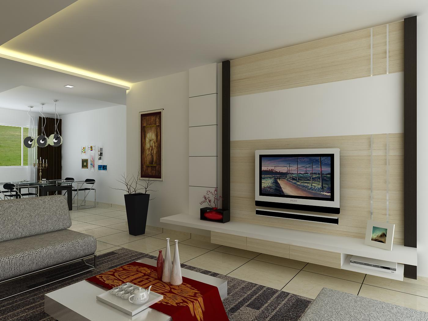 Our own place tv feature wall - Feature wall ideas for living room ...