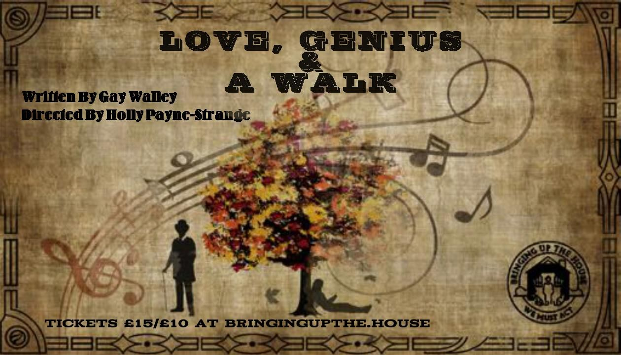 Review: 'Love, Genius & A Walk' at the Drayton Arms Theatre, 8th