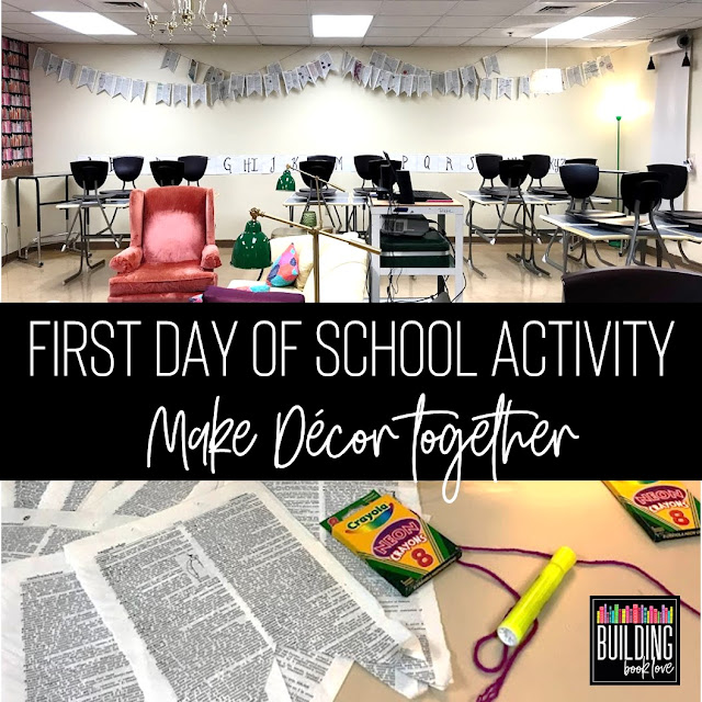 First Day of School Activities for English Class
