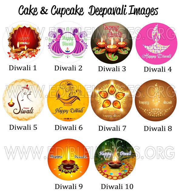Edible Image Deepavali