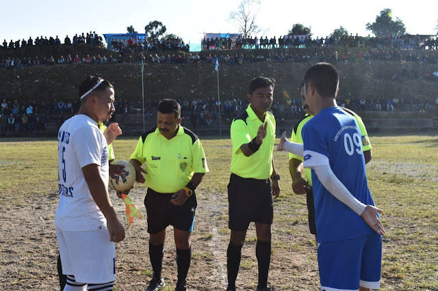 United sikkim wins united brothers kalimpong