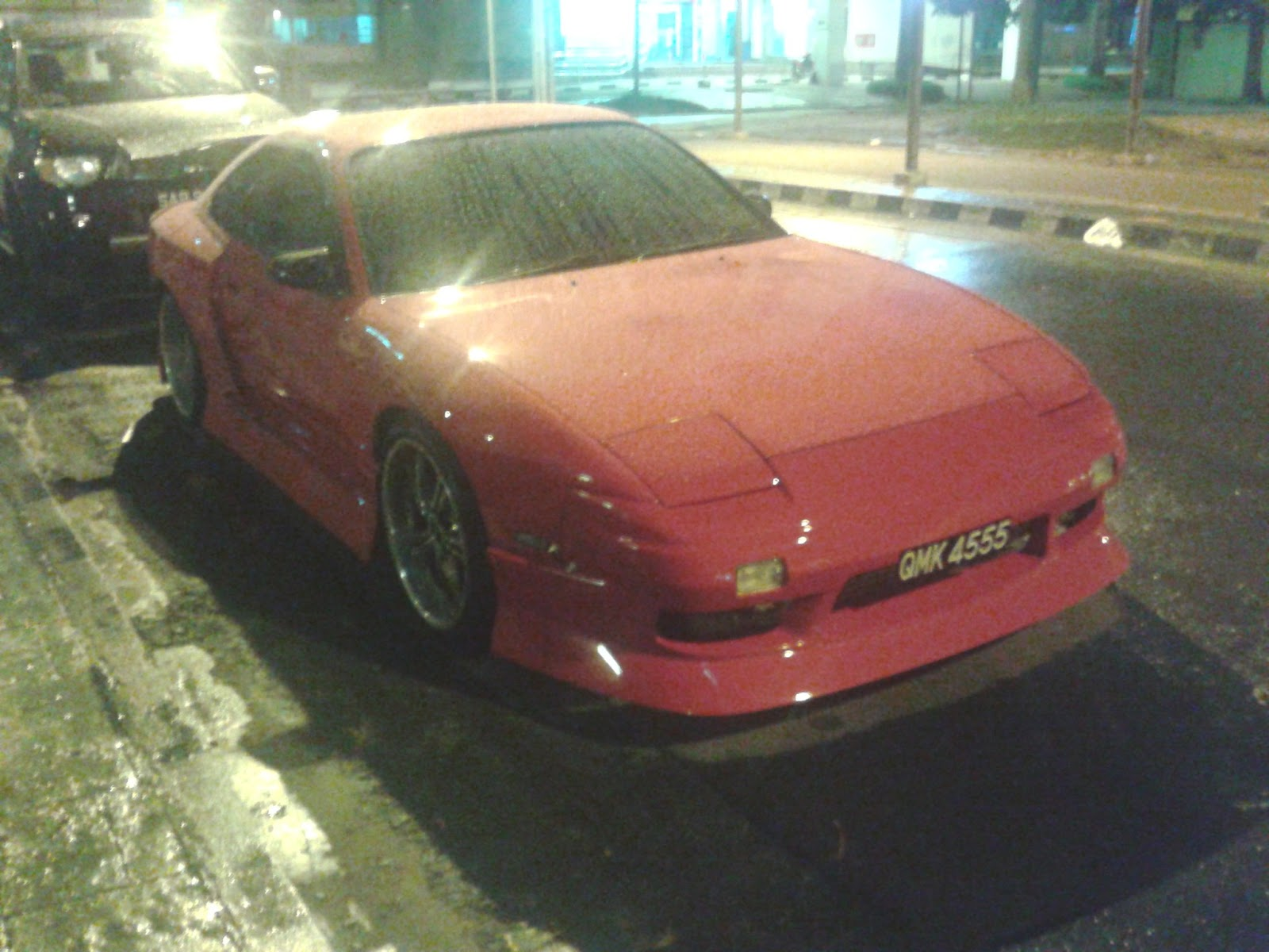 brunei nissan association: 200sx with s15 rear end conversion or s15