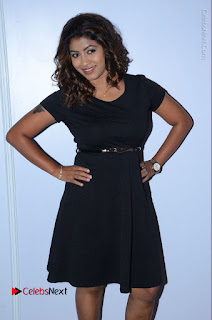 Tollywood Actress Geethanjali Thasya Latest Pos in Black Short Dress at Nanna Nenu Na Boyfriends Audio Launch  0023.JPG