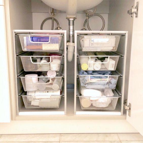 Creative Ideas For Bathroom Organization Bathroom Storage Solutions
