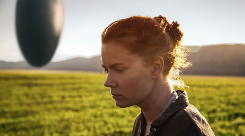 "Arrival (2016) - Director: Denis Villeneuve Starring: Amy Adams, Jeremy Renner and Forest Whitaker Based on ""Story of Your Life"" by Ted Chiang."