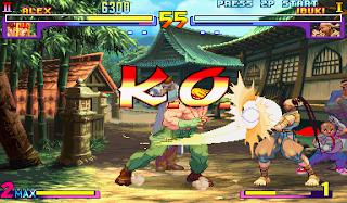 Jogue Street Fighter III na versão Arcade online