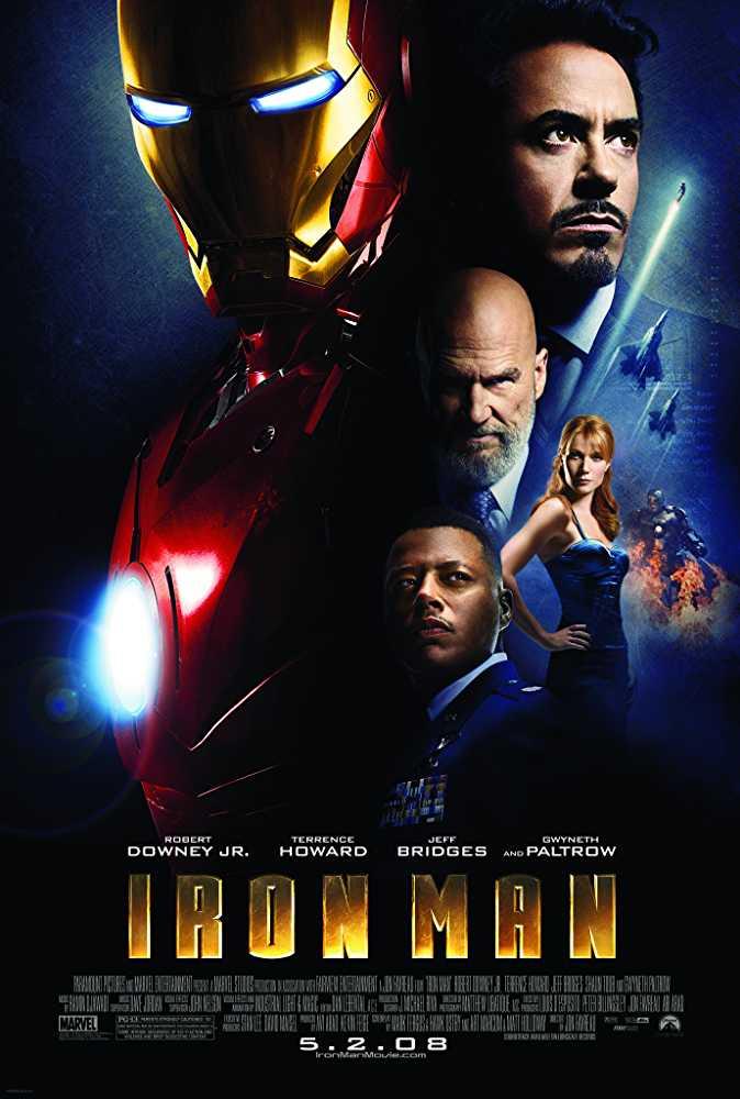 Iron Man 2008 BRRip 720p Dual Audio In Hindi English