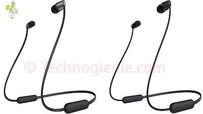 Sony WI-C310 and WI-C200 Wireless Bluetooth Earphones Launched in India.