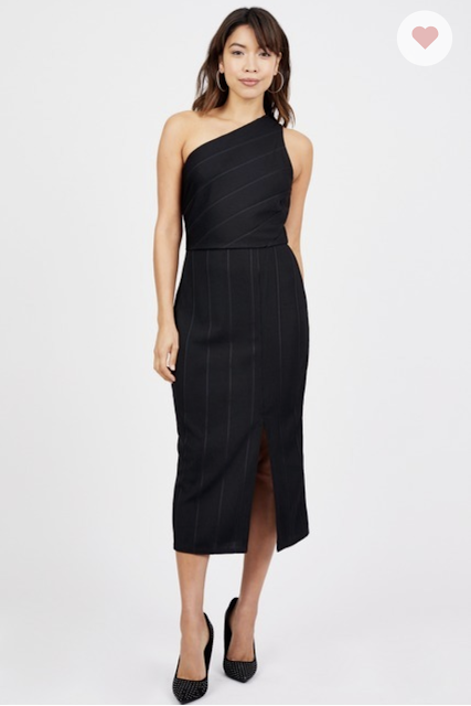 BCBG Black Midi Dress