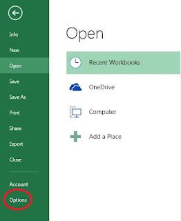 tutorial cara menampilkan tab developer di excel
