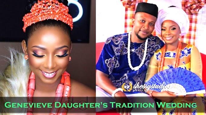 Meet Chimebuka  Husband Genevieve Nnaji's daughter
