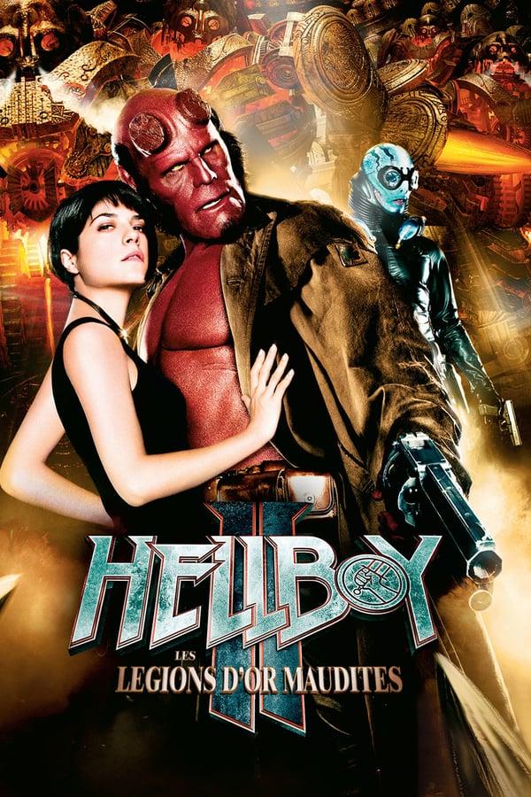 Baixar Hellboy II: O Exército Dourado (2008) Dublado