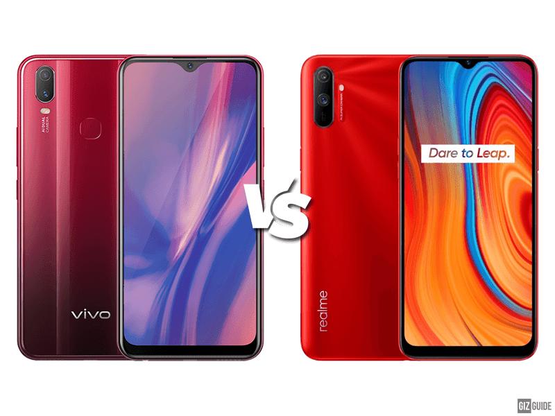 Vivo Y11 vs realme C3 specs comparison