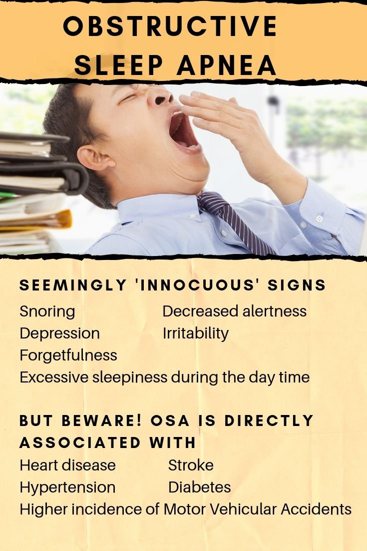 Signs and diseases associated with obstructive sleep apnea