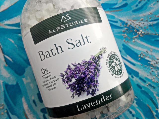 Соль для ванн с ароматом лаванды