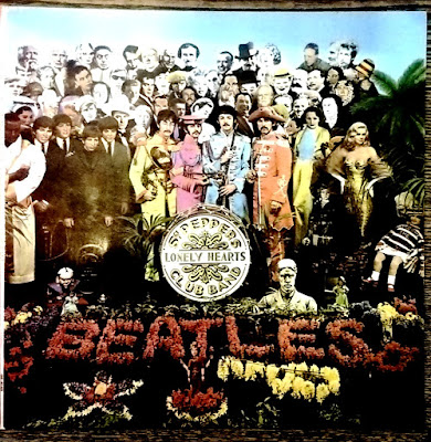 the Beatles - Sgt. Pepper's Lonely Hearts Club Band - front
