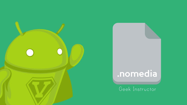 Create nomedia file on Android