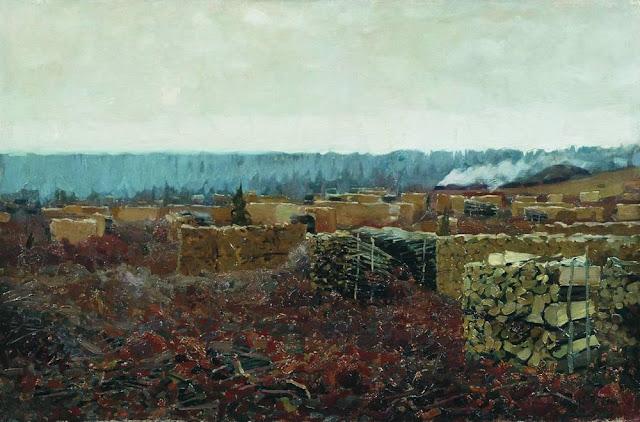 Исаак Ильич Левитан - Порубка. 1898